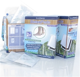 Image of BodyPure2x Foot Detox Pads (30 Days) + Free Test