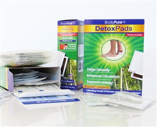 Image of BodyPure+ Foot Detox Pads (30 Days) + Free Test