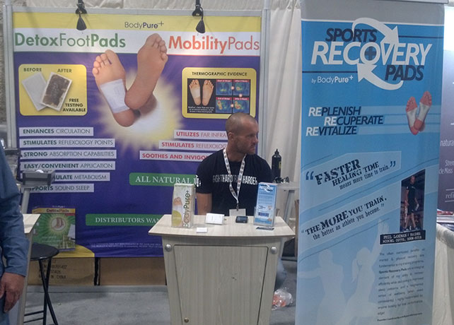 expo west, foot detox pads